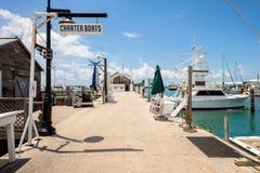 Key West-Bucht-Jachthafen Lizenzfreie Stockbilder