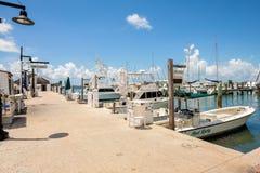 Key West-Bucht-Jachthafen Stockfotos
