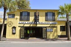 Key West capitana il salone del ` s di Tony fotografia stock libera da diritti