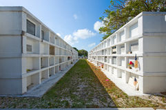 Key West cemetery Royalty Free Stock Photos