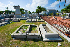 Key West cemetery Royalty Free Stock Images