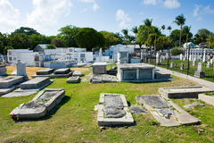 Key West cemetery Stock Photography