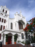 Key West Church. Church in downtown Key West stock images