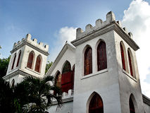 Key West Church. A small church on a side street in Key West Florida Stock Photography