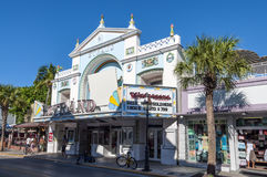 Key West cinema theater Strand Royalty Free Stock Images