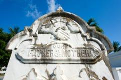 Key West cmentarz Zdjęcie Stock