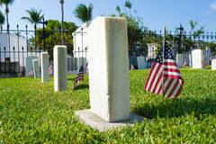 Key West cmentarz Obrazy Stock