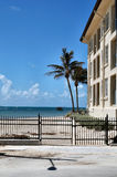 Key West Coast. Image of an apartment building on the south shore of Key West Florida Stock Image
