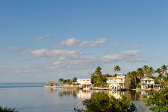 Key West coast. Mansions at Key West coast in Florida royalty free stock photography