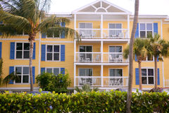 Key West colorful houses in south Florida Stock Image