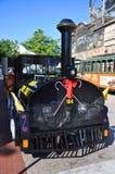 Key West Conch Tour Train, Florida Stock Images