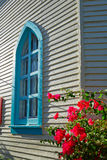 Key west downtown street houses in Florida Royalty Free Stock Images