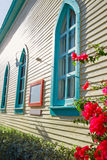 Key west downtown street houses in Florida Stock Photo