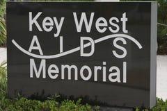 Key West facilite le mémorial Photo stock