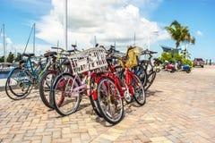 Key West-Fahrräder Lizenzfreie Stockfotografie