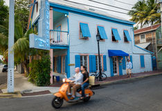 Blue Heaven Cafe in Key West Royalty Free Stock Images