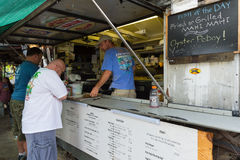 Fish Wagon in Key West Royalty Free Stock Images
