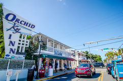 KEY WEST, FL - CIRCA 2016: streets and lifestyle at Key West cir Stock Images