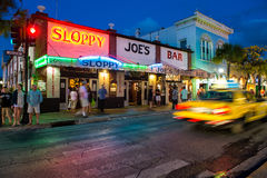 Sloppy Joes Bar in Key West Royalty Free Stock Images