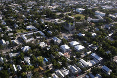 Key West Florida Aerial Royalty Free Stock Photography