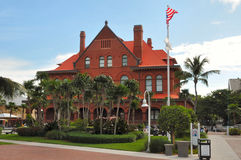 Key West Florida Art museum. Image of the Key West Florida Art Museum Stock Photos