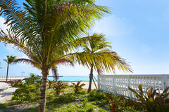 Key west florida beach Clearence S Higgs Royalty Free Stock Image