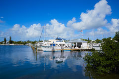 Key West Florida marina Garrison Bight Florida Stock Photo