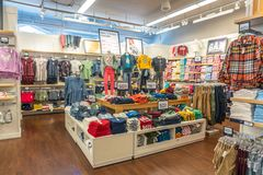 Free Key West, Florida, USA - September 13, 2019: Clothing On Display At GAP Store In Key West. GAP Is An American Worldwide Royalty Free Stock Image - 161098316