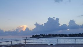 Mallory Square Sunset. Key West Florida Vacation Royalty Free Stock Photos