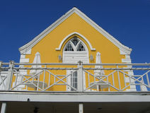 Key West Florida Yellow Cafe. View stock photo
