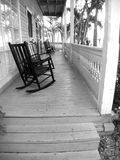 Key West Front Porch. Front porch of a historic home in Key West downtown district stock image