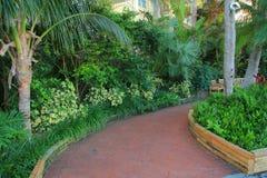 Key west garden Stock Photo
