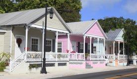 Key West-Häuschen, Florida lizenzfreie stockfotografie