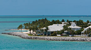 Key West Harbor. A Home On Key West Harbor Royalty Free Stock Photos