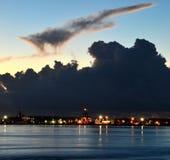 Key West in het Blauwe Uur Royalty-vrije Stock Fotografie