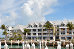 Key West hotel. Image of a hotel in Key West Florida Royalty Free Stock Photos