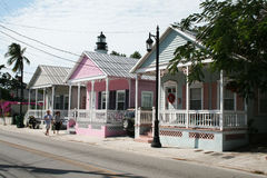 Key west houses Stock Images