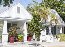 Key West Houses Royalty Free Stock Images