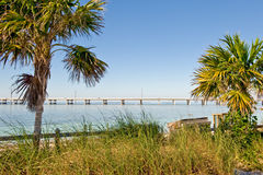 Key West island bridge Royalty Free Stock Photos