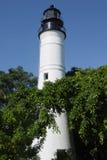 Key West Lighthouse. Full length image of the lighthouse in Florida's Key West royalty free stock photos
