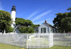 Key West Lighthouse and Keepers Quarters Museum in Key West Royalty Free Stock Photography