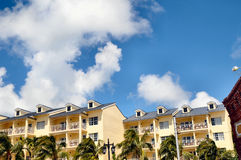 Key west living. Image of condo's in Key West Royalty Free Stock Image
