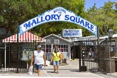 Key West Mallory Square imagen de archivo libre de regalías