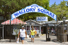 Key West Mallory Square Royalty Free Stock Image