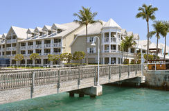Key West Marina Sunset Key Cottages fotos de stock royalty free