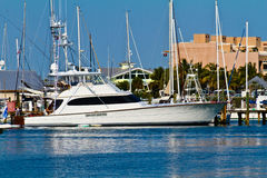 Key West Marina Yatch Obraz Stock