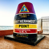 Key west miles point Royalty Free Stock Photos