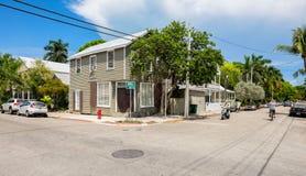Key West-Nachbarschaft stockbild
