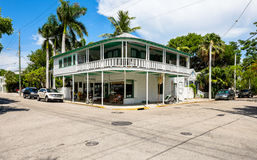 Key West neighborhood Royalty Free Stock Photos