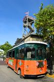 Key West Old Town Trolley, Florida Royalty Free Stock Photos